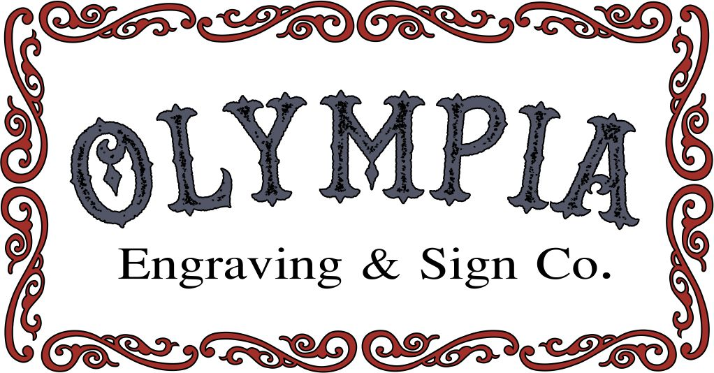 Olympia engraving